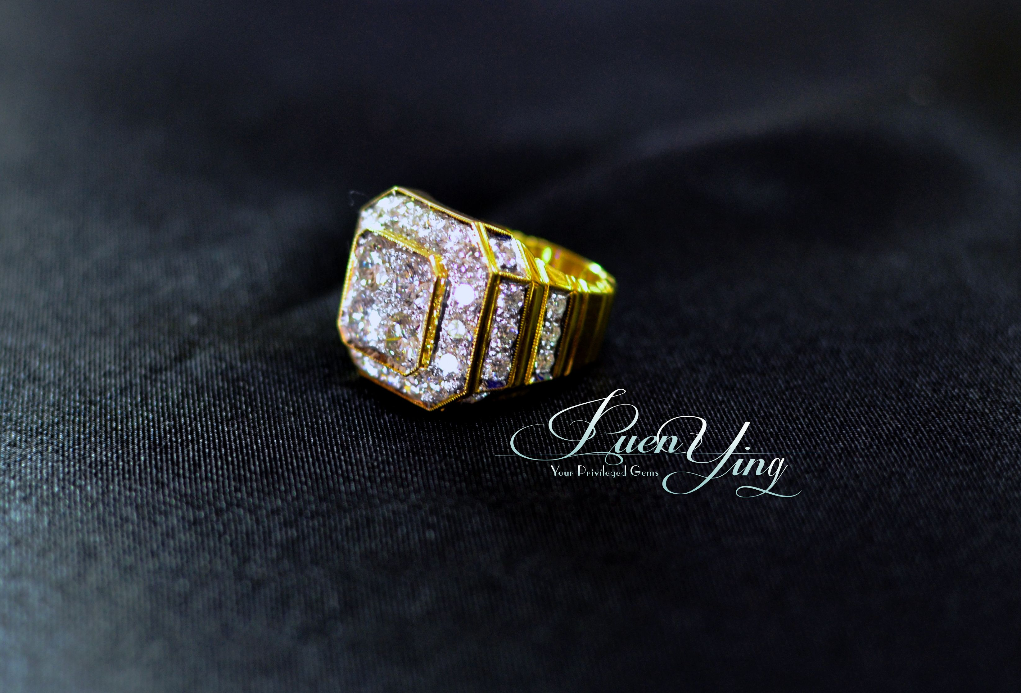 rings ring gold tw cut flawless products in diamond engagement a yellow