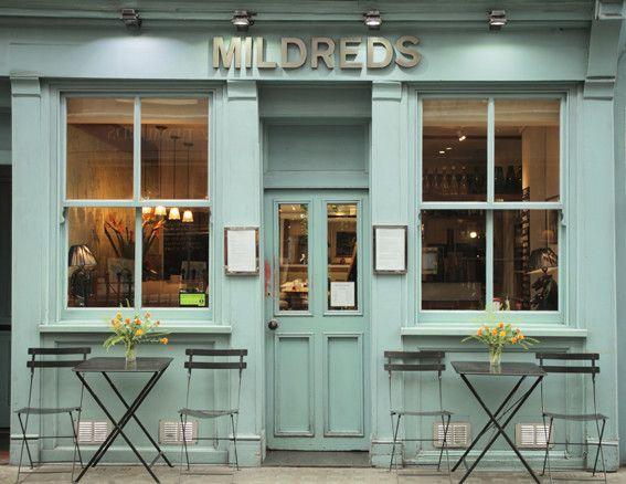 Get to know mildreds better. Vegetarian restau in London
