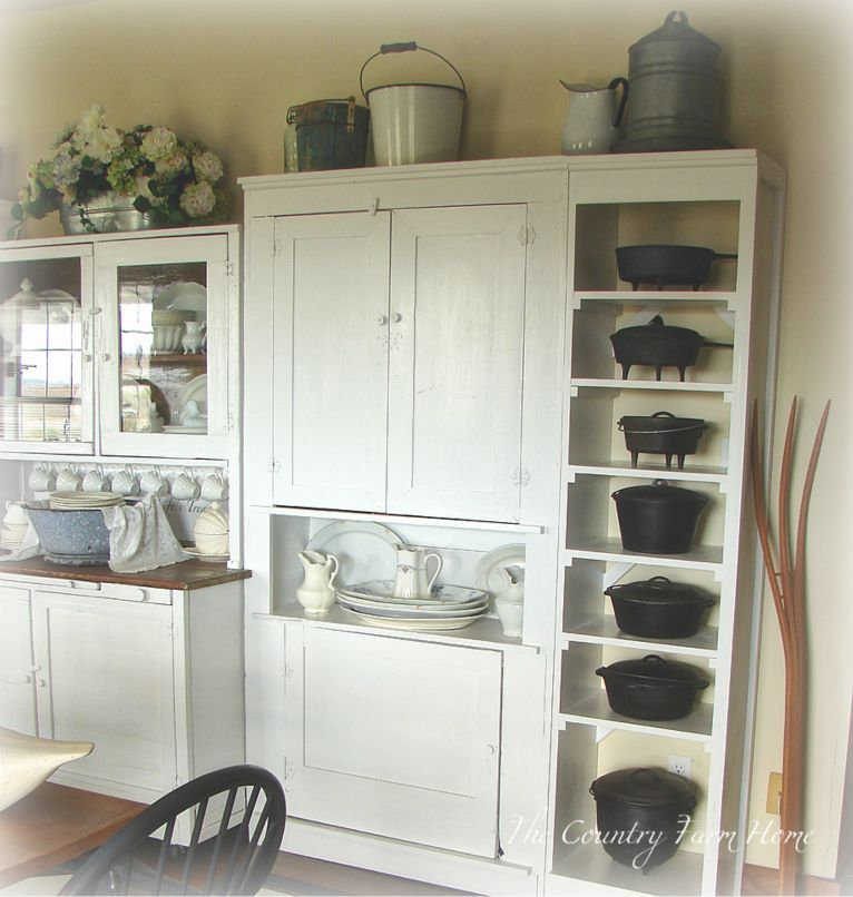 Best The Farmhouse Keeping Room Is Revealed Iron Storage 400 x 300
