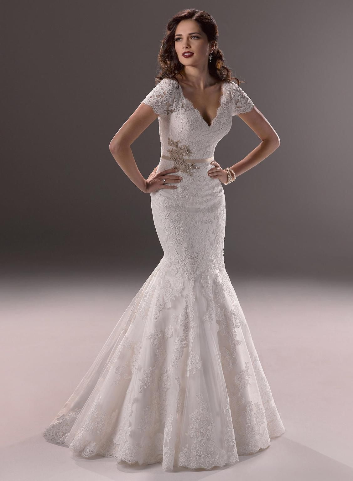 Used wedding dresses near me  Maggie Sottero Veda  Size   Used Wedding Dresses  My Dream