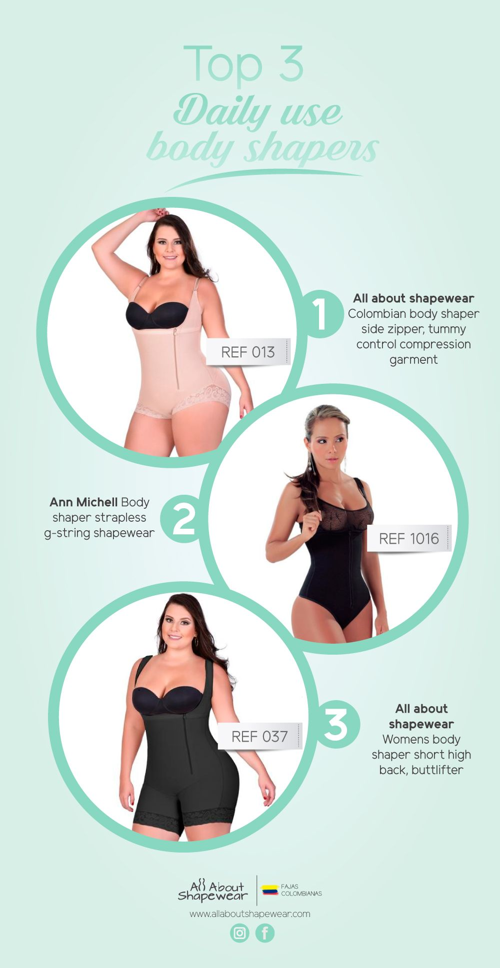 f75b6e4f6fd1a Not Sure which Daily Use Body Shaper to try  See Our TOP 3 Garments ...