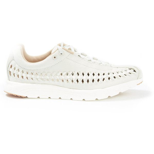 new product 12fcd 5531d Nike Natural Woven Mayfly Trainers ( 145) ❤ liked on Polyvore featuring  shoes, sneakers, braided shoes, nike shoes, nike trainers, nike footwear  and ...