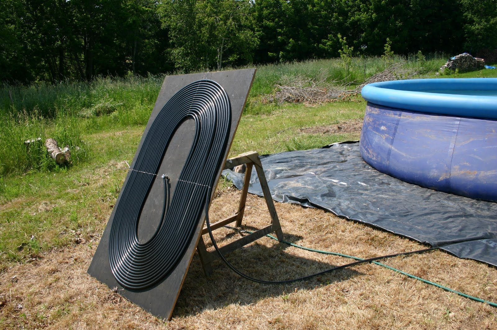 Yana And Peter Homeshow How To Heat A Pool Diy Swimming Pool Solar Pool Heater Diy Pool Heater