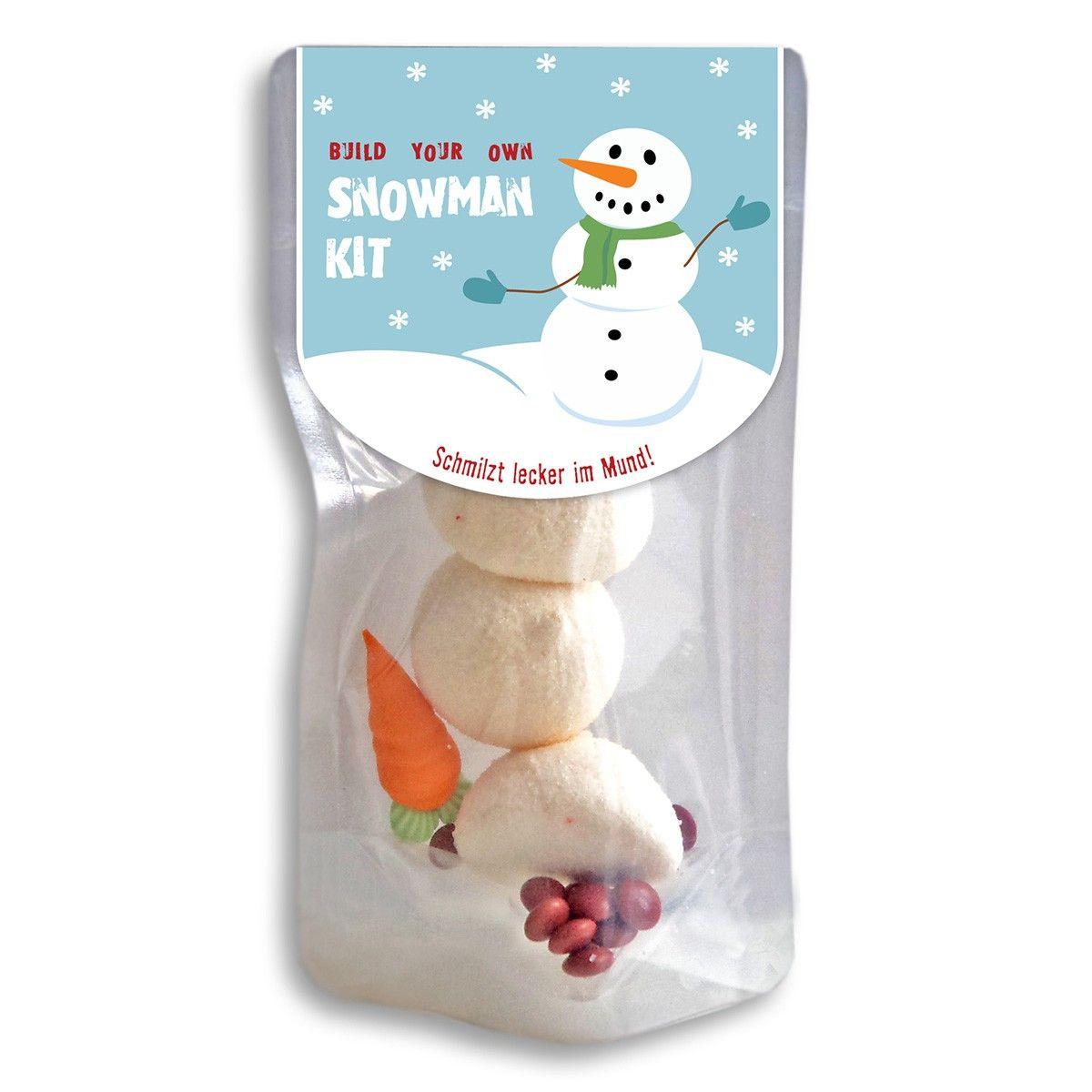 snowman kit bau dir 39 nen schneemann aus schaumzucker diy pinterest weihnachten. Black Bedroom Furniture Sets. Home Design Ideas