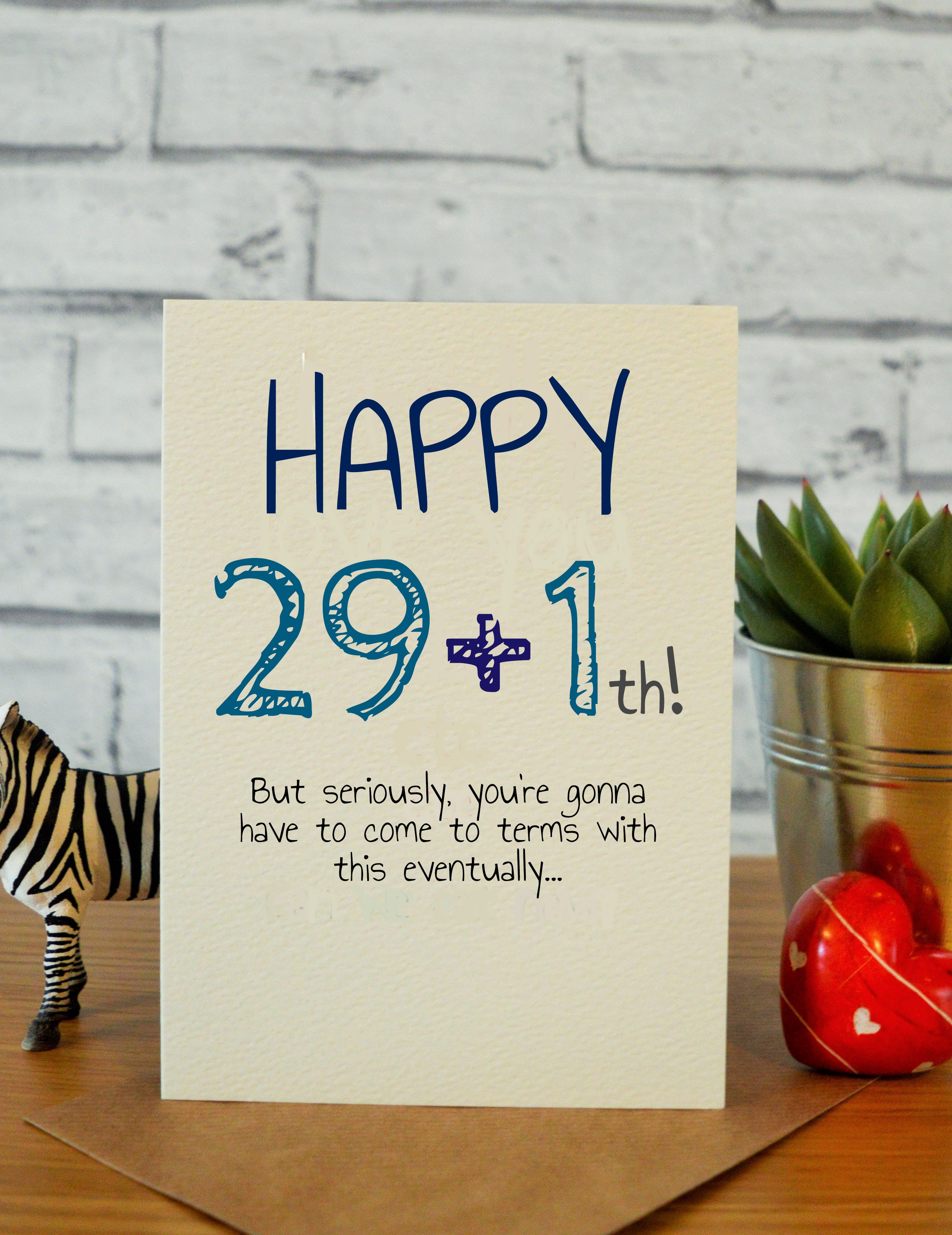 291th birthday cards for him 30th birthday gifts 40th