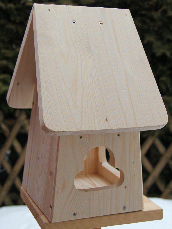dekorativer nistkasten(nb2)-mit vogelfutterhaus zum selbst bauen
