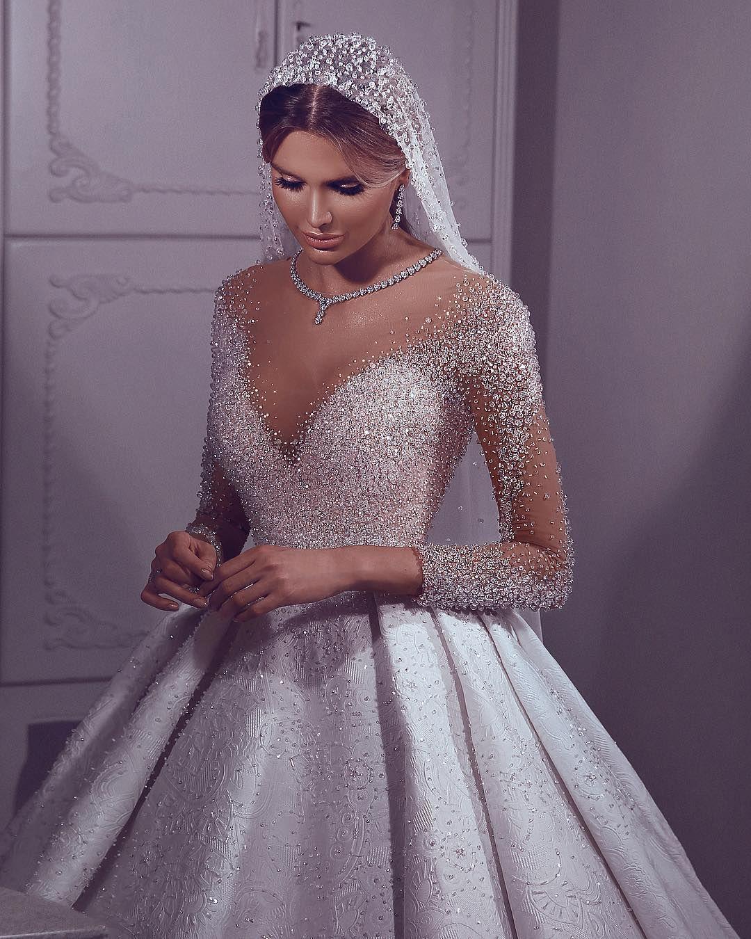Sadek Majed Bridal On Instagram Couture Bridal Collection 2019 Sadekmajed Sadekmajedcoutu Wedding Dress Couture Ball Gowns Wedding Dream Wedding Dresses