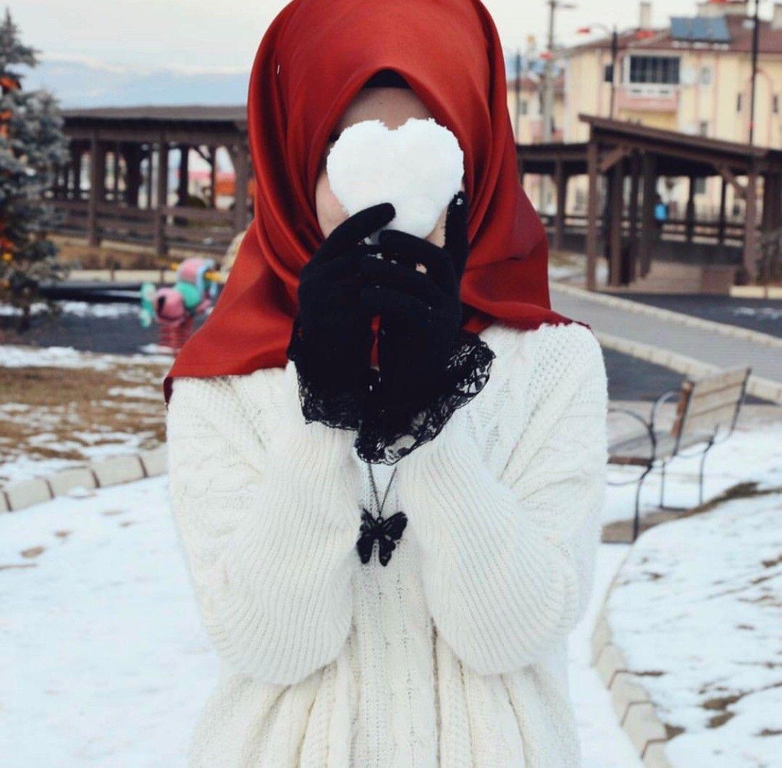 Красивые девушки в платках мусульманки фото без лица