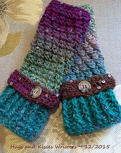 Crochet Fingerless Gloves Free Patterns | Mitones