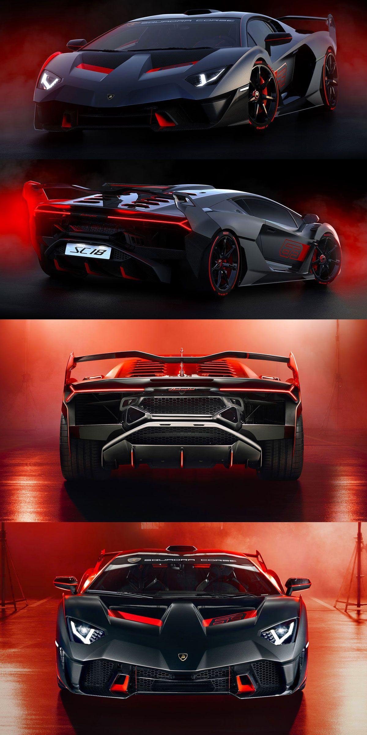 Lamborghini Squadra Corse Sc18 One Off Lamborghini Sc18 Lamborghinisc18 Supercar Supercars V12 Hyperc Lamborghini Veneno Sports Cars Luxury Super Cars