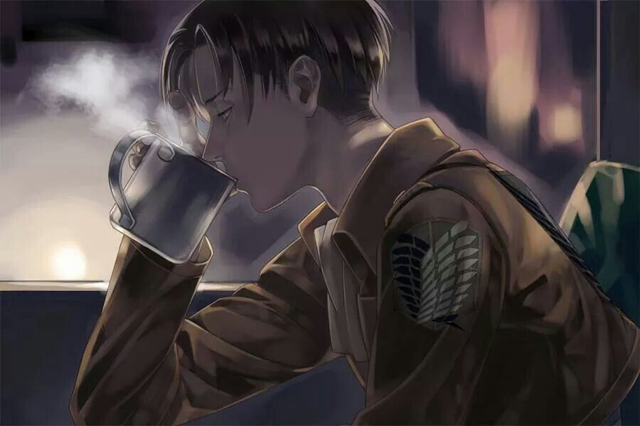 Levi Tea Time Attack On Titan Levi Attack On Titan Levi Ackerman