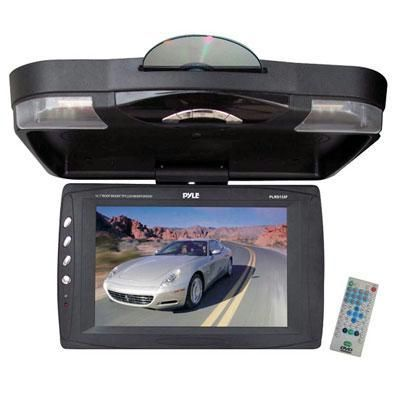 Pyle Roof Mount Tft Lcd Monitor W Built In Dvd Player 12 1 Wide Screen Hi Res Tft Lcd Monitor Resolution 1280 X 800 Ightness 450 C Lcd Monitor Dvd Player