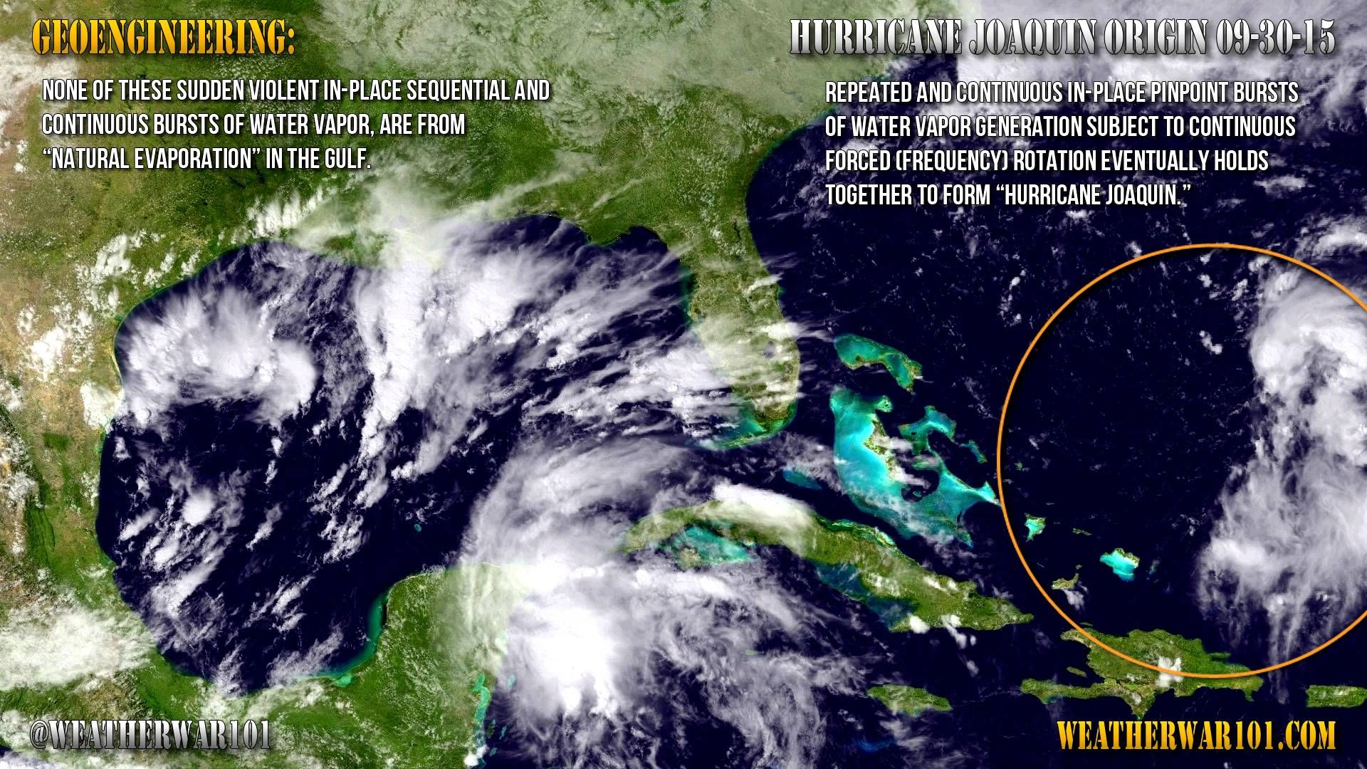 Geoengineering Hurricane Joaquin Origin Joaquin The Originals