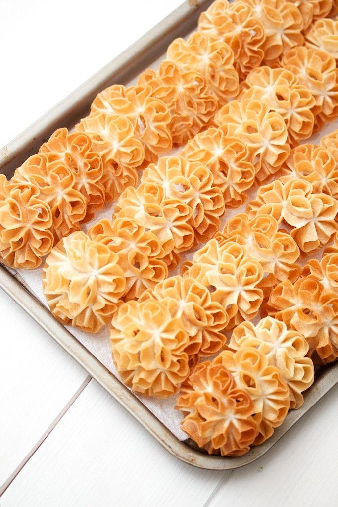 A Little Thai Treat Lotus Blossom Cookies Lotus Blossom Cookies