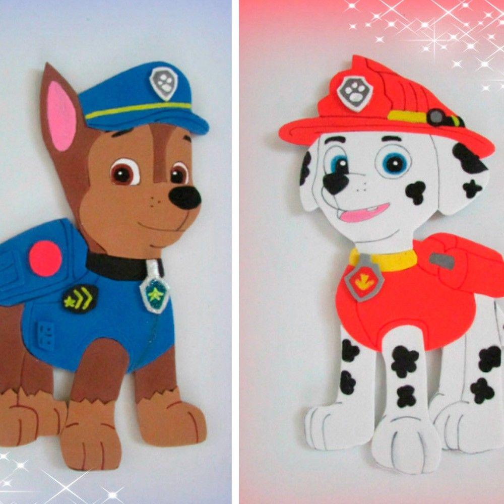 Resultado de imagen para patrulla canina foami fomix - Manualidades patrulla canina ...