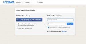 USTREAM Sign In - Sign in to USTREAM.tv TV App   Tv app ...