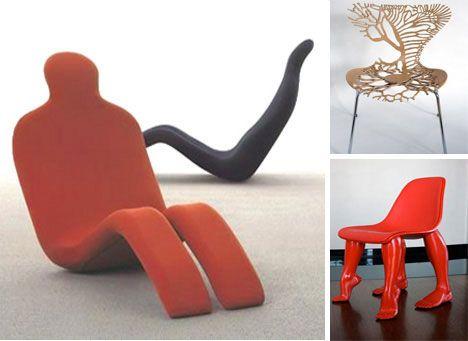 Comfy Weird Chairs 1