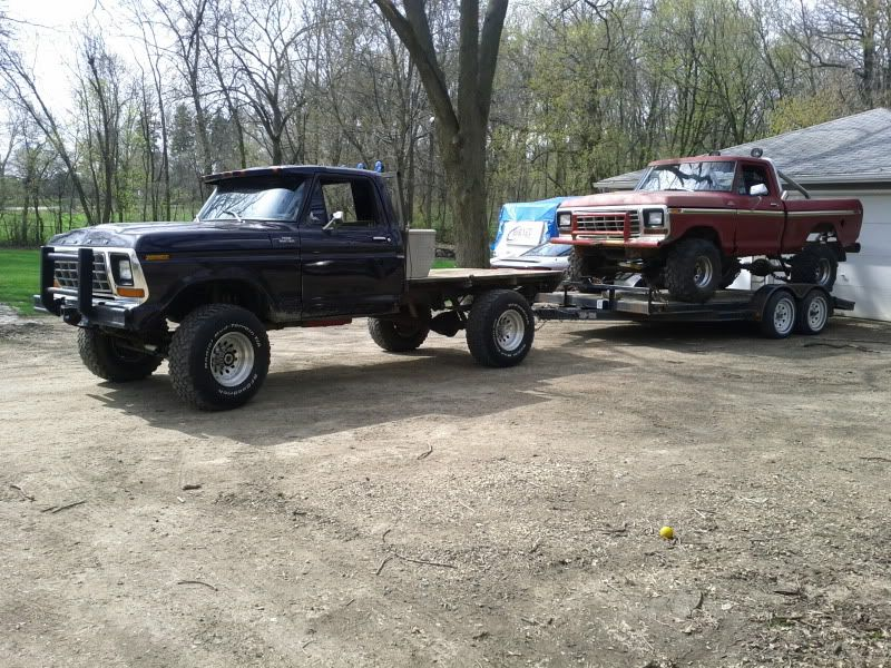 Mud trucks 132 here s my heaviest 79 f250 with mild 460 looking for pictures of your truck hauling loads ford truck enthusiasts forums sciox Images