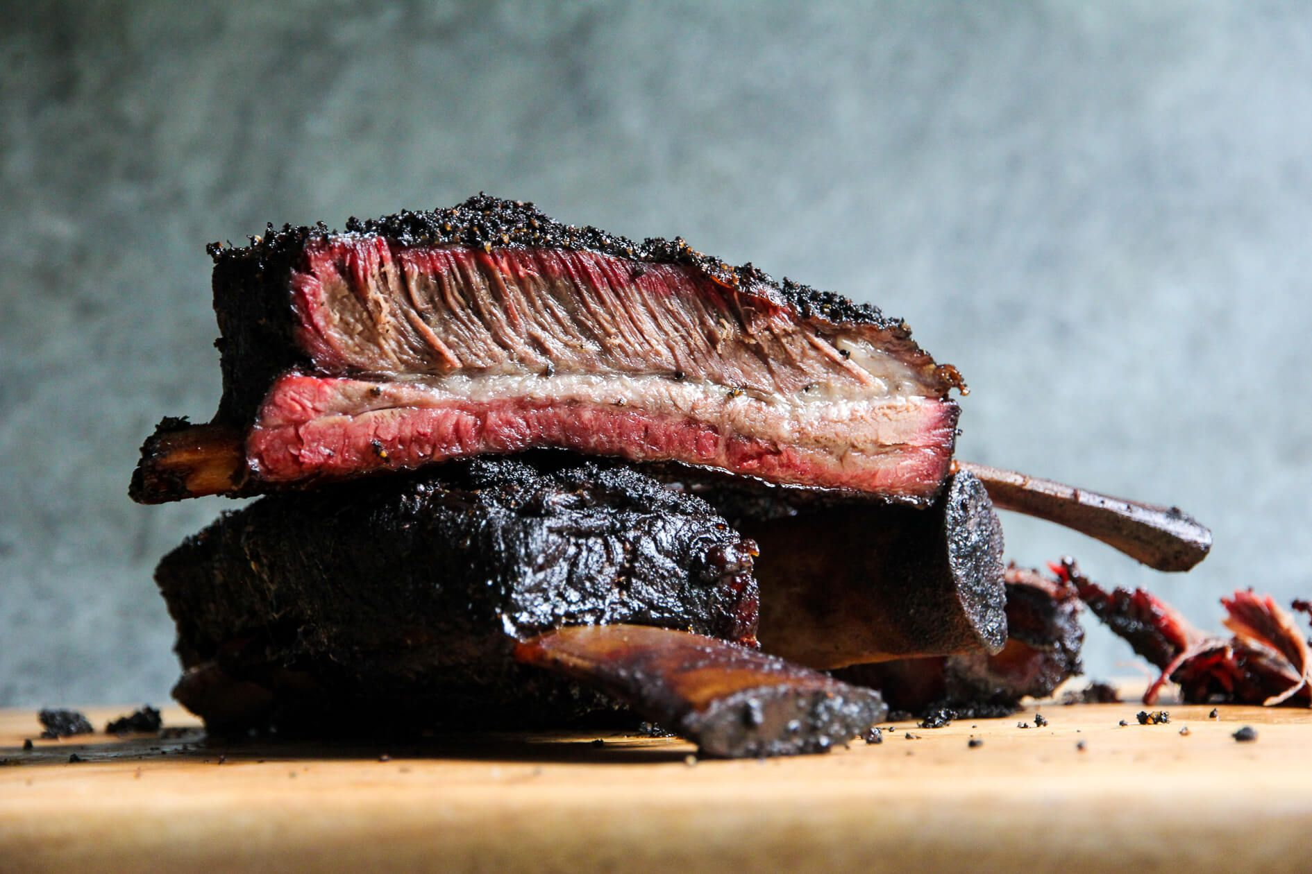 How To Make Huge Smoked Bbq Beef Ribs Jess Pryles Recipe Bbq Beef Short Ribs Beef Ribs Bbq Beef