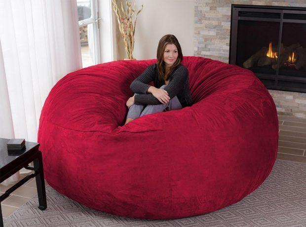 Astonishing The Chill Bag Is An Eight Foot Bean Bag Chair Small Customarchery Wood Chair Design Ideas Customarcherynet