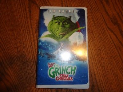 How The Grinch Stole Christmas 2000 Vhs.Dr Seuss How The Grinch Stole Christmas 2000 S Vhs