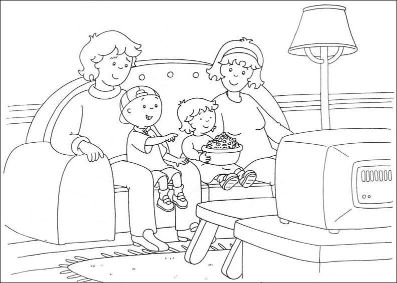 Caillou Coloring Pages Best Coloring Pages For Kids Caillou Coloring Pages Coloring Pages For Kids