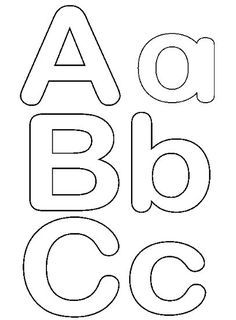 Letras Para Imprimir Y Recortar Gratis Tipografía Alphabet