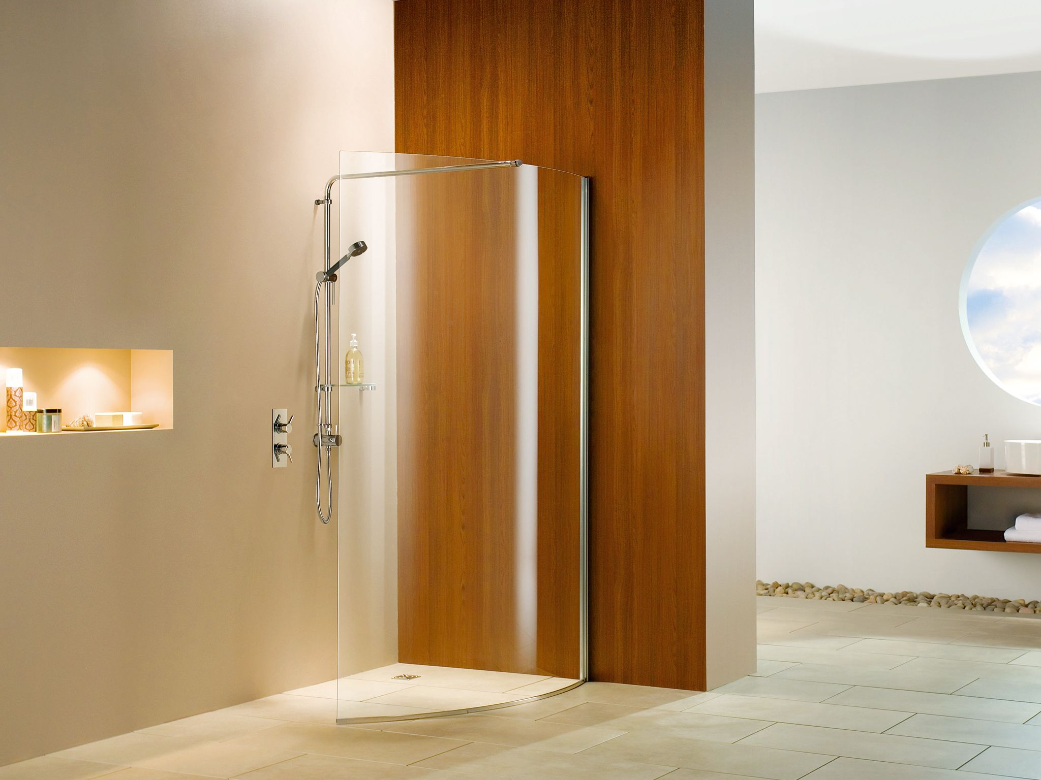 Matki ACP curved shower screen (1200x900) | curved screens ...