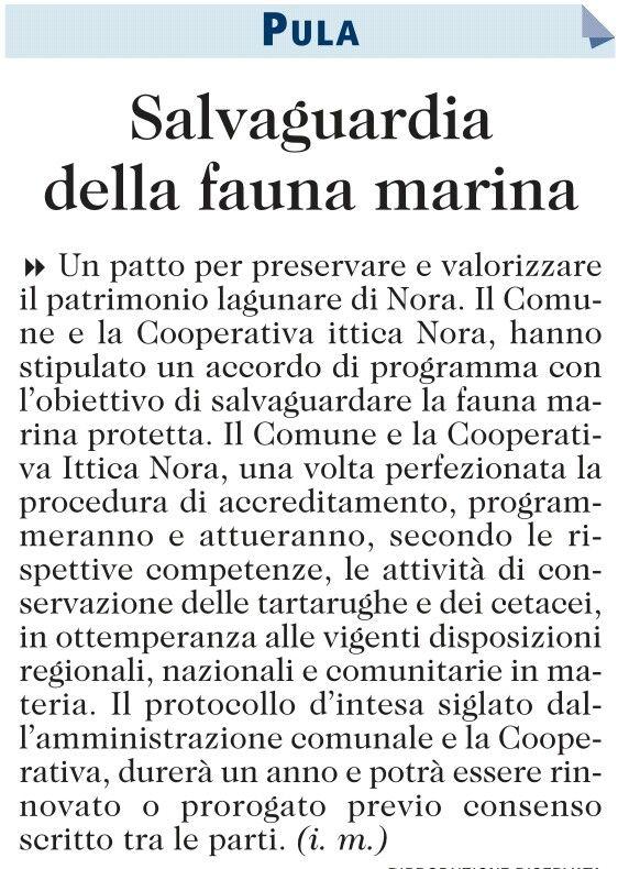#Pula patto per preservare e valorizzare il patrimonio lagunare di #Nora http://t.co/ygeVkchfuF https://www.facebook.com/Pula.it www.pula.it