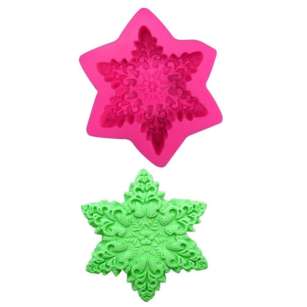 Snow shaped silicone soap mold resin suspension pinterest