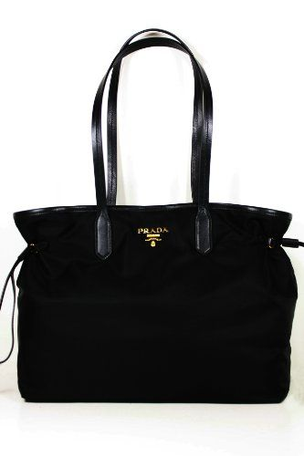 d58e87f8d9 Prada Handbags Black Tessuto and Black Leather « Clothing Impulse ( VIP  Fashion Australia www.