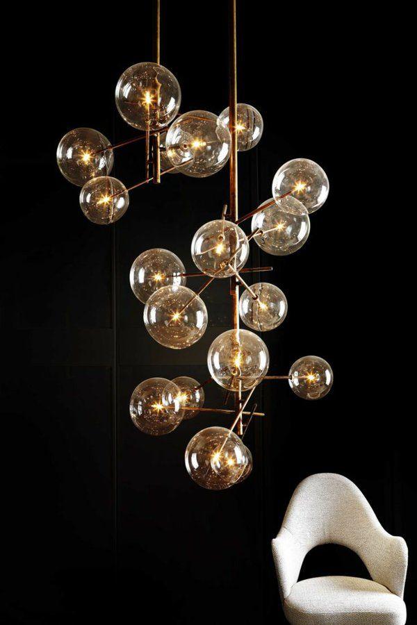 Hngelampe Kugel Glaskugel Lampen Deckenlampen Sessel