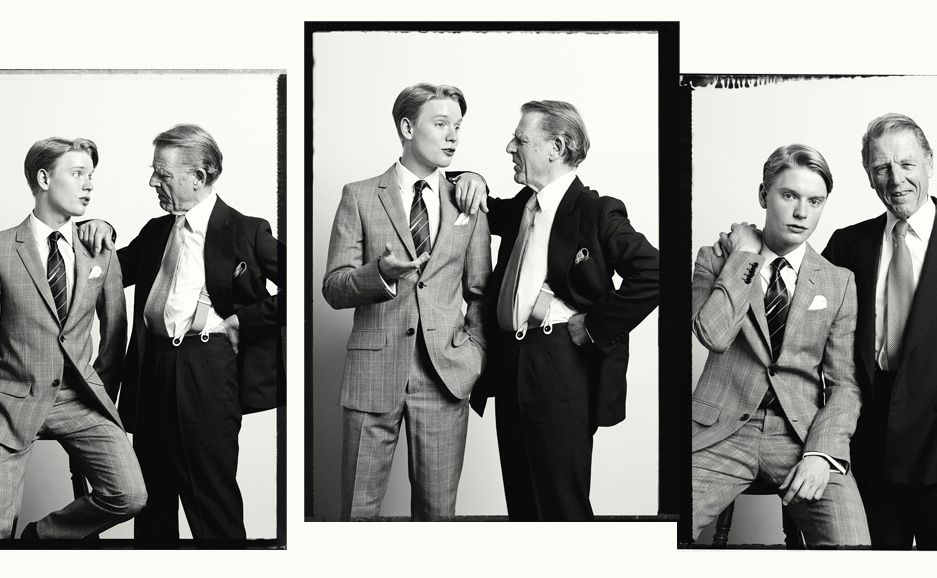 Edward Fox and Freddie Fox (May 4, 1989) in London, England as Frederick Fox. Son of Edward Fox and Joanna David. Trained at the Guildhall School of Music and Drama and graduated in 2010. Younger brother of Emilia Fox. Nephew of James Fox and Robert Fox. He is the cousin of Laurence Fox.