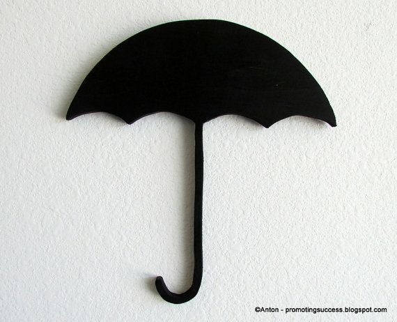 Wooden Umbrella Silhouette for Nursery, Girl's Room or for Any Decor Wall Art: This wooden umbrella silhouette is hand-cut for a one of a kind piece of art. No lasers here, just an old scroll saw and some sand paper to smooth out the edges and give it some character. Please choose your color preference from the drop down menu above. If you don't see a color you need, just include it at checkout..
