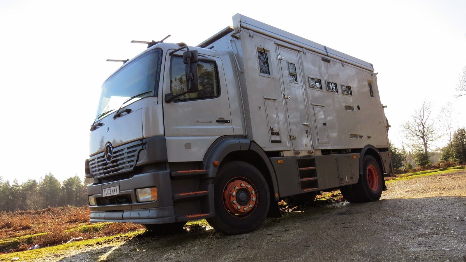 Jim The Mercedes 1823 Overland Motorhome Truck