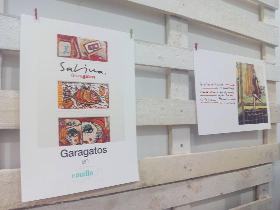 Exposici N Garabatos Con Ilustraciones Y Textos De Joaquin  # Muebles Garabatos