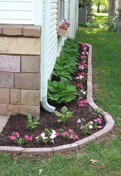 Verwenden Sie Ziegel, Um Ihren Garten Zu Schmücken! Billig, Aber Sehr  Effektiv!