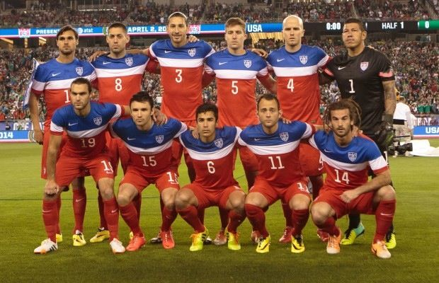 US Men's Soccer Team 2014 | Usa world cup, Soccer team, Team usa
