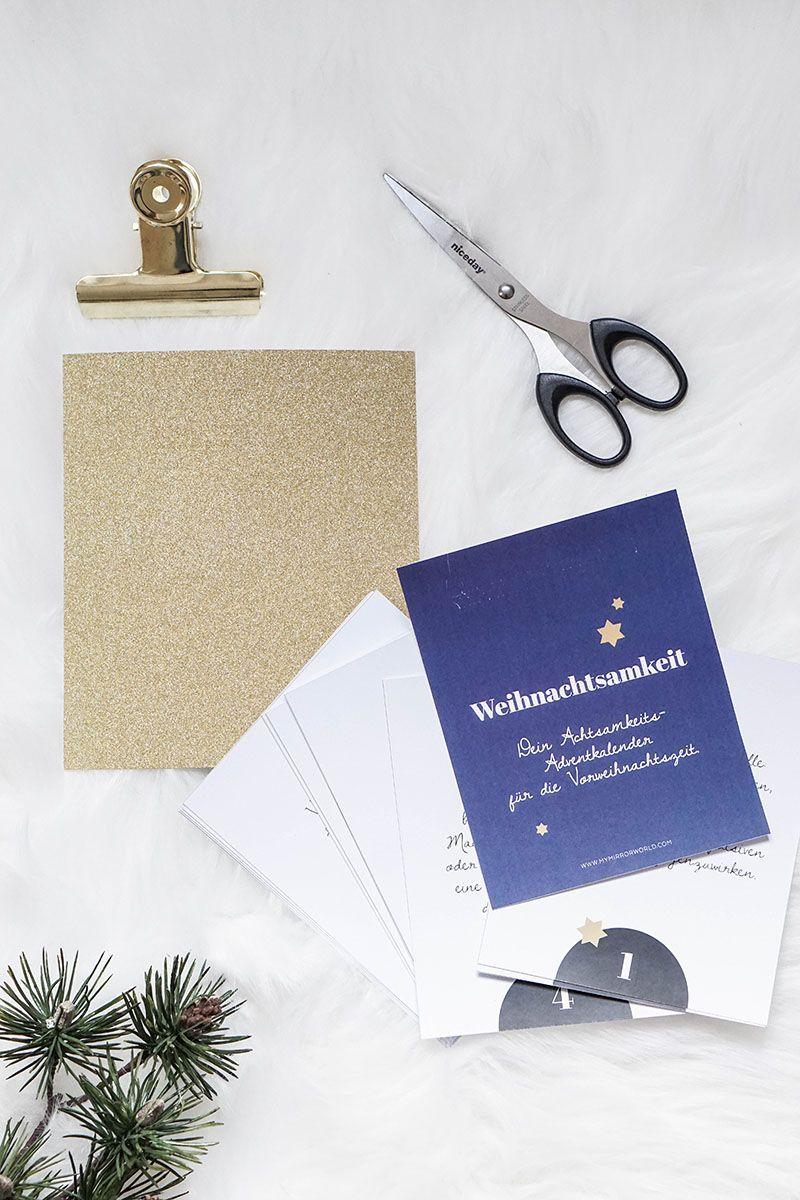 Calendrier de l'Avent DIY Mindfulness | My Mirror World