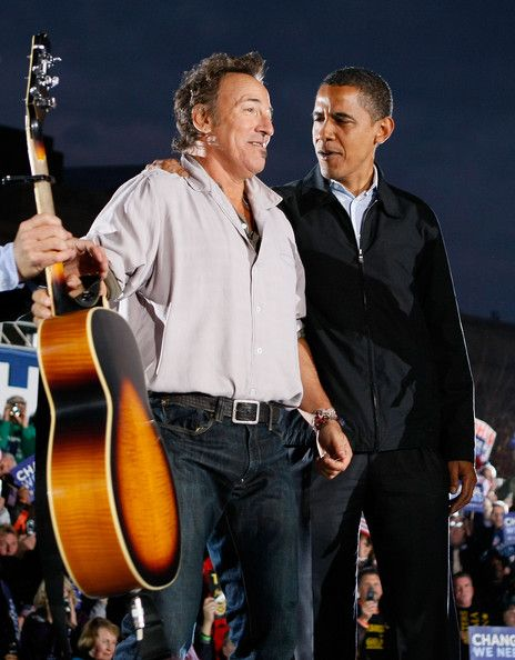 Bruce Springsteen Photos Photos: Obama Campaigns Across The U.S. In Final Week Before Election