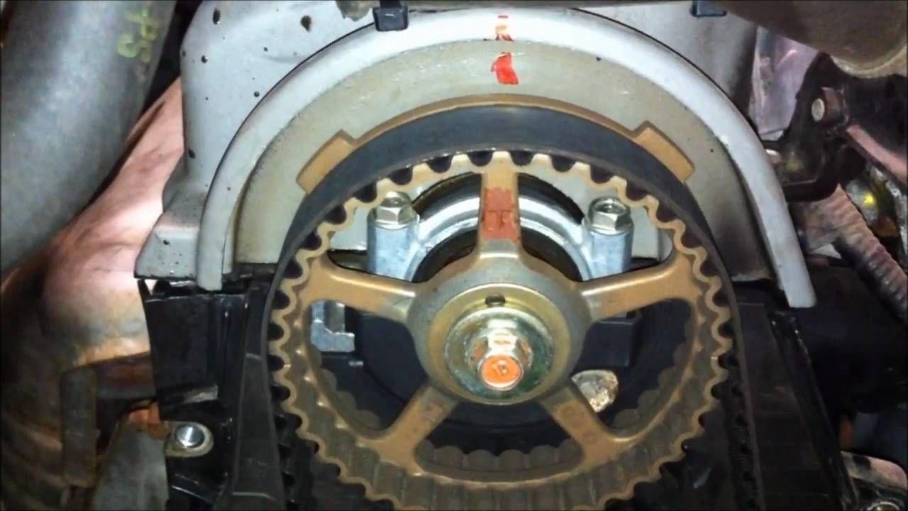 2 of timing belt service gen honda civic