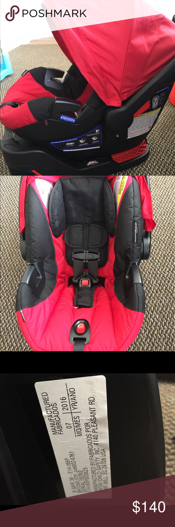 Britax car seat Britax b safe 35 infant car seat. Only