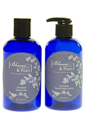 Blossom And Pearl French Lavender Cosmetics Bundle Lavender Shower