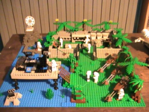 Star Wars Imperial Forestjungle Base Endoryavinnaboo 20