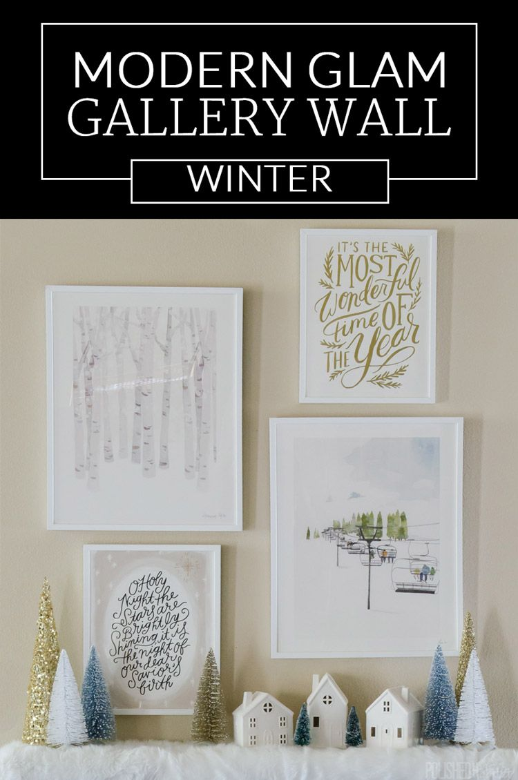 Post Sponsored My Minted Love These Ideas For Winter Wall Art And Christmas Gifts Diy Decor Winter Wall Art White Christmas Decor