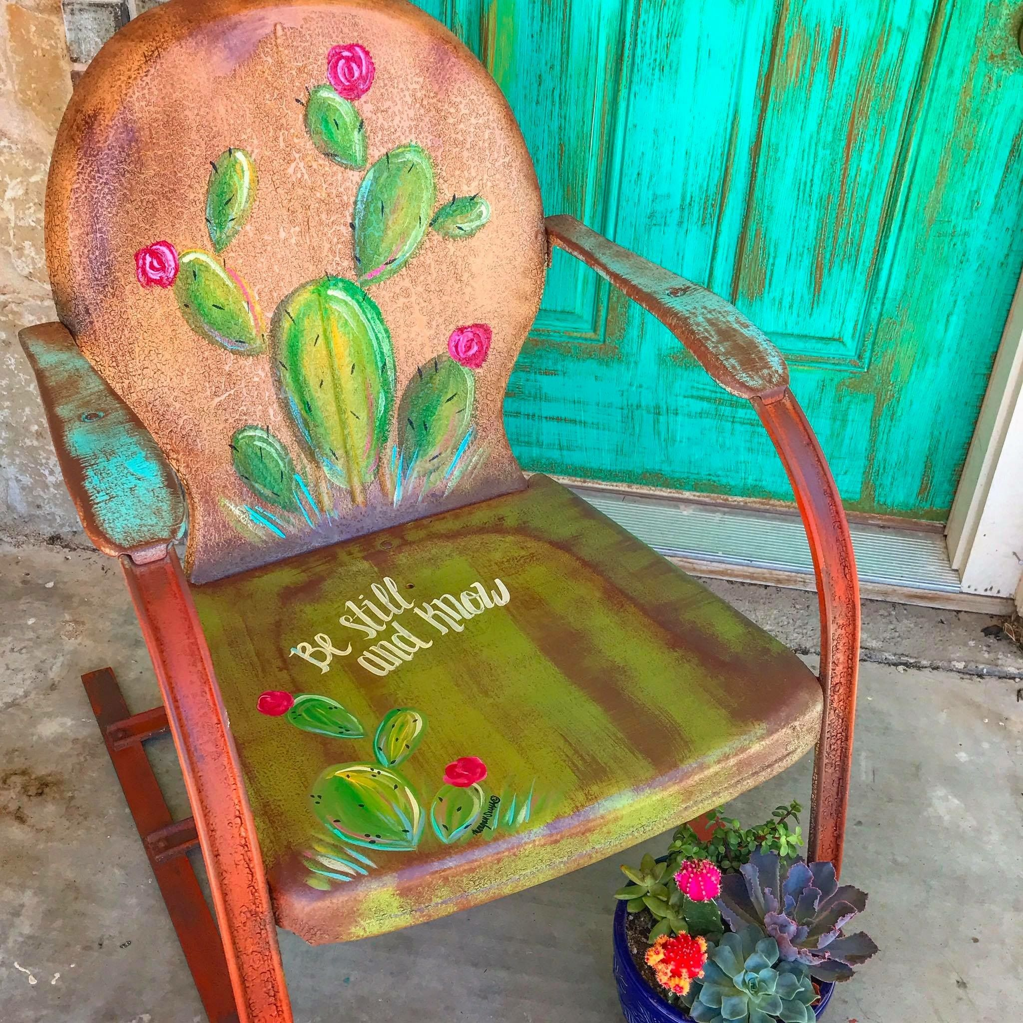 Love this chair! MetalChair is part of Metal lawn chairs -