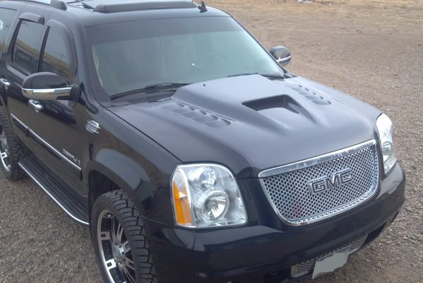 Ram Air Hood Gmc Denali Yukon Denali Cars Trucks