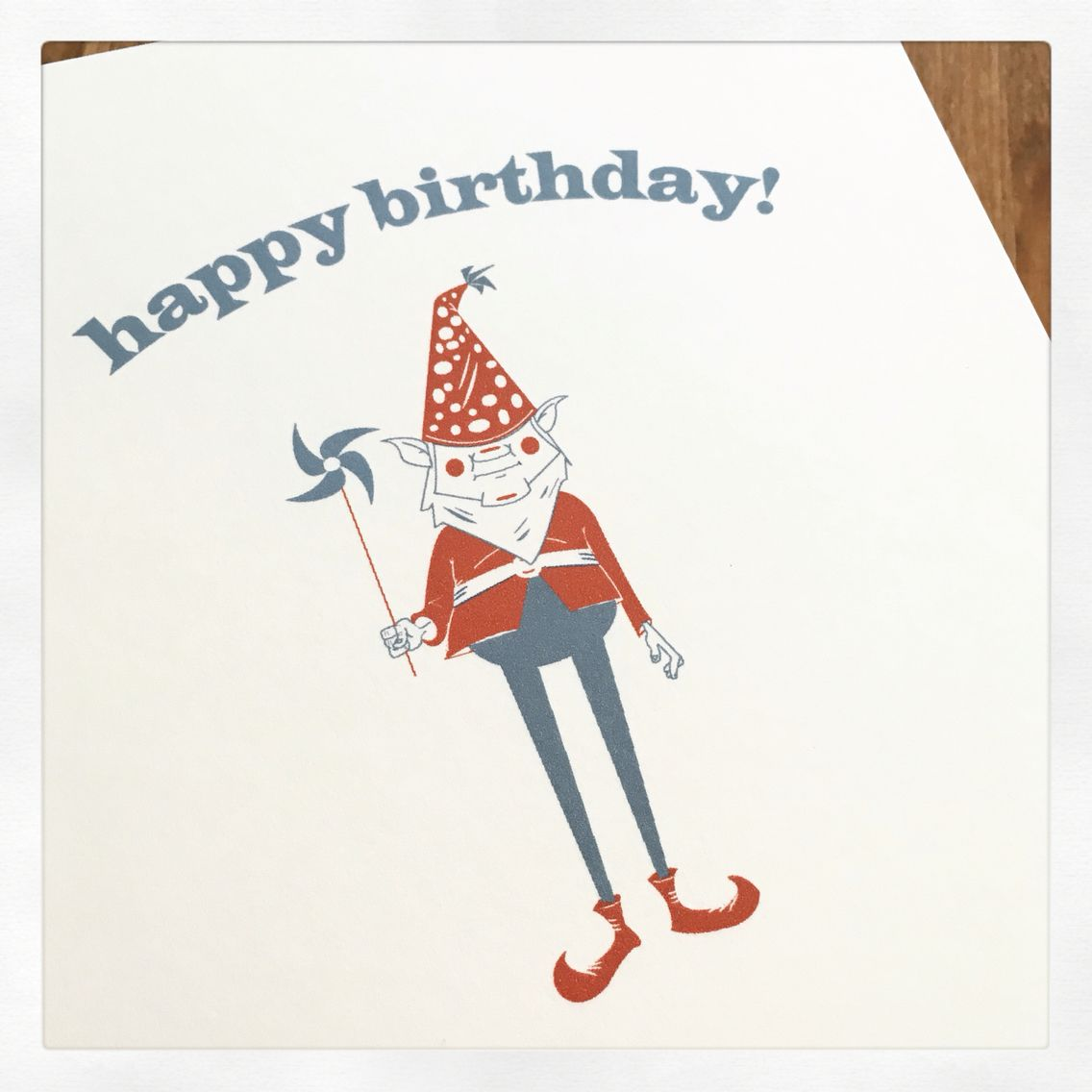 Gnome birthday card design design pinterest gnomes and note gnome birthday card design bookmarktalkfo Image collections