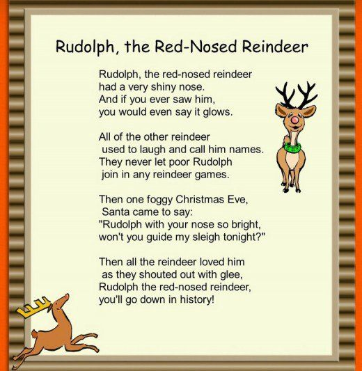 rudolph the red nosed reindeer - Christmas Songs Rudolph The Red Nosed Reindeer