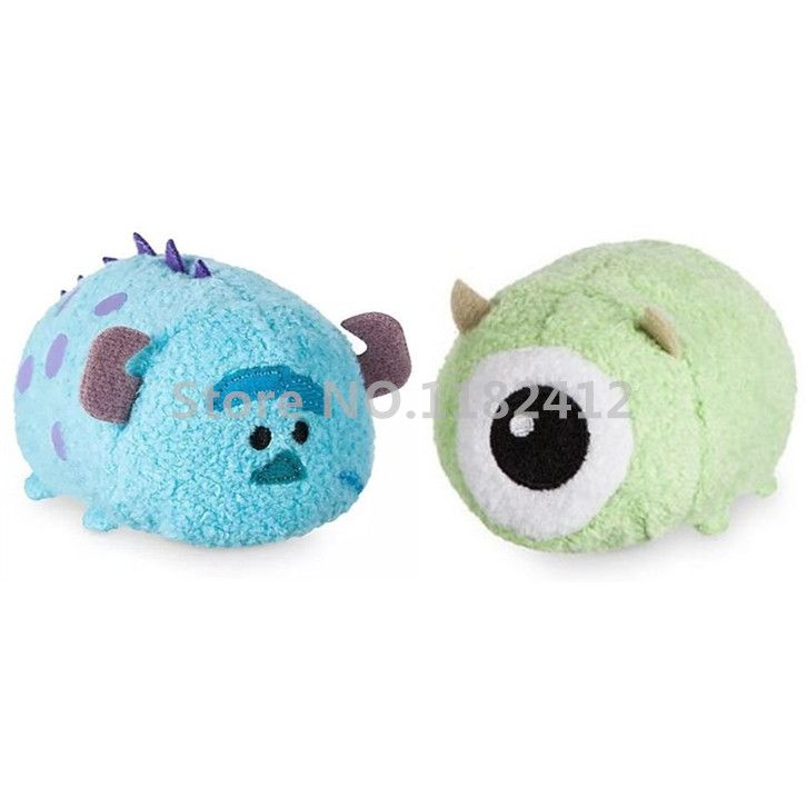 Aliexpress.com: Acheter Tsum Tsum Mini Monsters University Mike Wazowski et Sulley Sullivan En Peluche Set Kawaii Peluches Mignon Smartphone Screen Cleaner de cleaner fiable fournisseurs sur HAPPY TOY ClUB